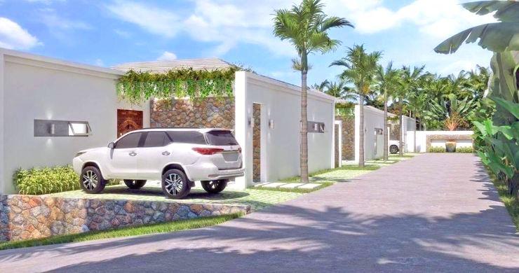 Luxury 3 Bed Bali Sea View Villas for Sale in Bophut-9