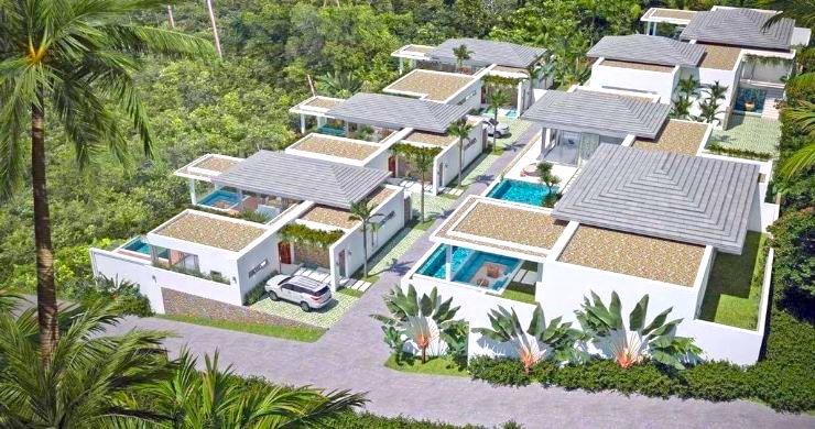 Luxury 3 Bed Bali Sea View Villas for Sale in Bophut-25