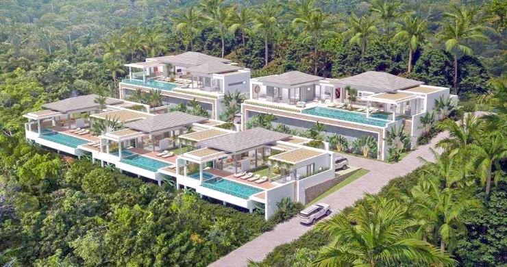 Luxury 3 Bed Bali Sea View Villas for Sale in Bophut-24