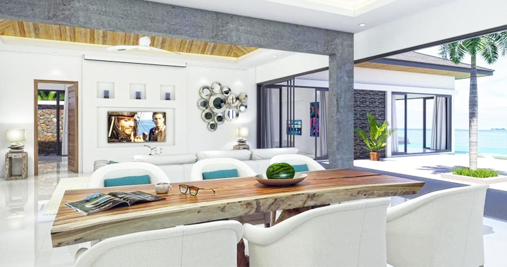 Luxury 3 Bed Bali Sea View Villas for Sale in Bophut-7