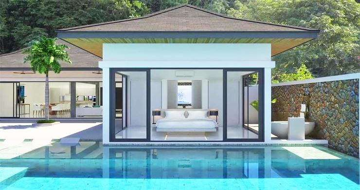 Luxury 3 Bed Bali Sea View Villas for Sale in Bophut-6