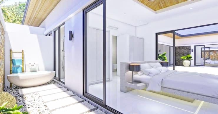 Luxury 3 Bed Bali Sea View Villas for Sale in Bophut-8