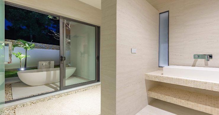 Luxury 3 Bed Bali Sea View Villas for Sale in Bophut-15