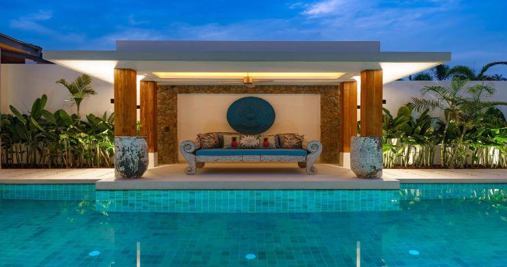 Luxury 3 Bed Bali Sea View Villas for Sale in Bophut-13