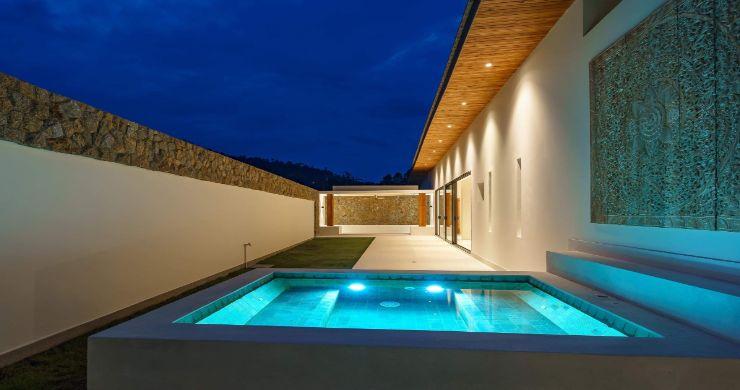 Luxury 3 Bed Bali Sea View Villas for Sale in Bophut-19