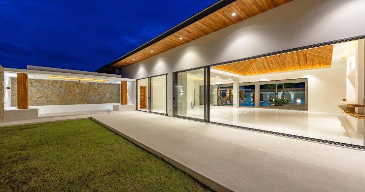 Luxury 3 Bed Bali Sea View Villas for Sale in Bophut-17