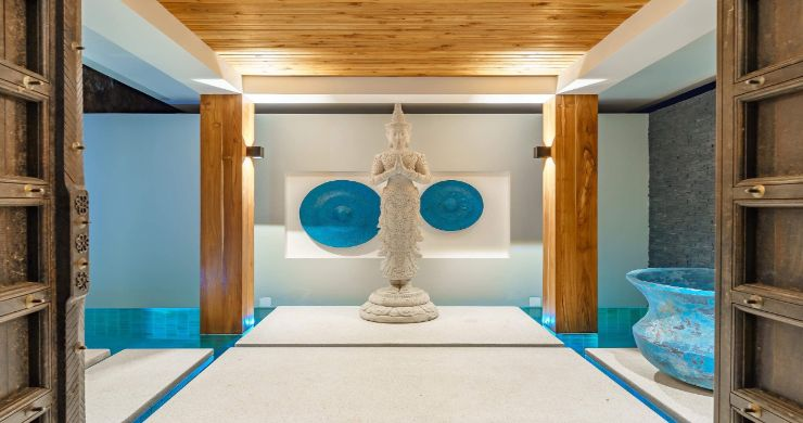 Luxury 3 Bed Bali Sea View Villas for Sale in Bophut-14
