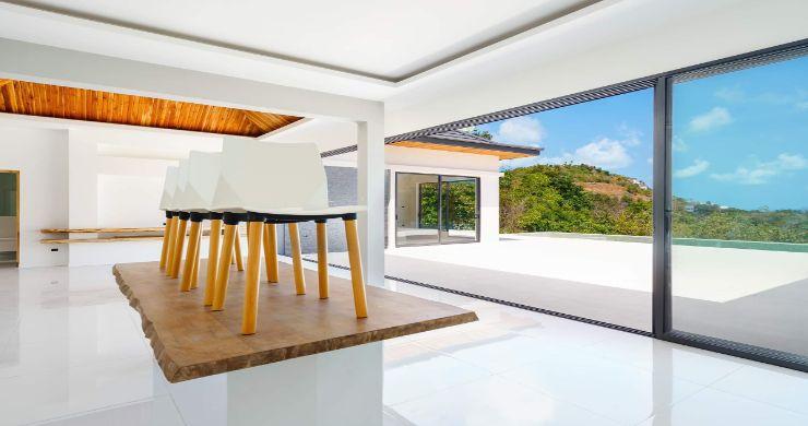 Luxury 3 Bed Bali Sea View Villas for Sale in Bophut-12