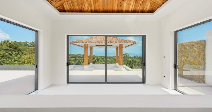 Luxury 3 Bed Bali Sea View Villas for Sale in Bophut-11