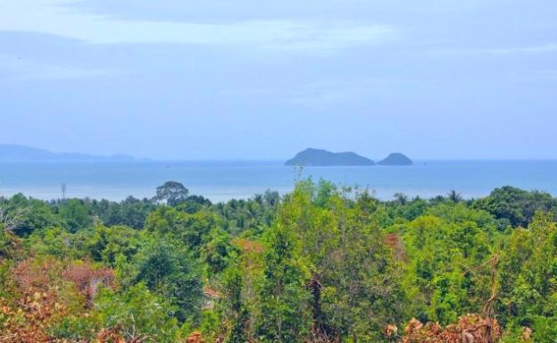 Private Sunset Sea View Land for Sale in Sri Thanu