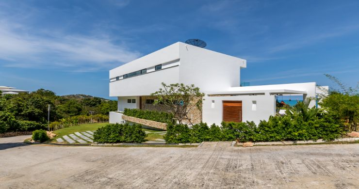 Contemporary 5 Bedroom Sea View Villa in Choeng Mon-25