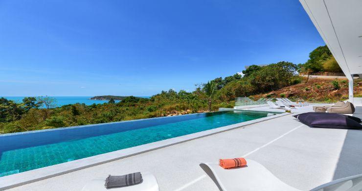 Contemporary 5 Bedroom Sea View Villa in Choeng Mon-2