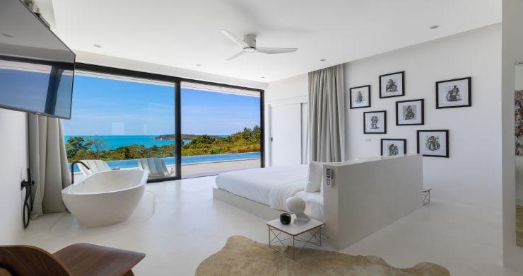 Contemporary 5 Bedroom Sea View Villa in Choeng Mon-18