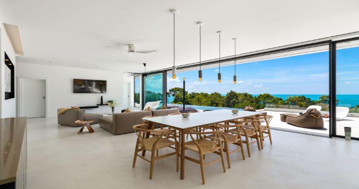 Contemporary 5 Bedroom Sea View Villa in Choeng Mon-5