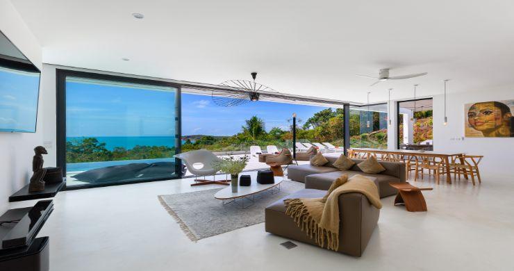 Contemporary 5 Bedroom Sea View Villa in Choeng Mon-3