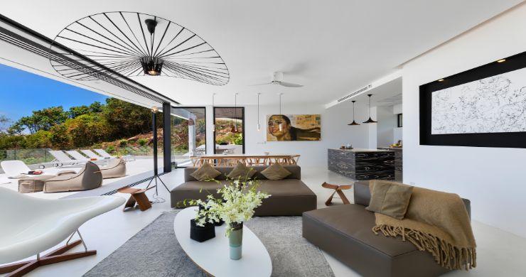 Contemporary 5 Bedroom Sea View Villa in Choeng Mon-4