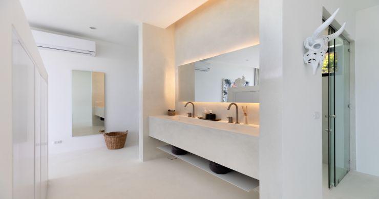 Contemporary 5 Bedroom Sea View Villa in Choeng Mon-20