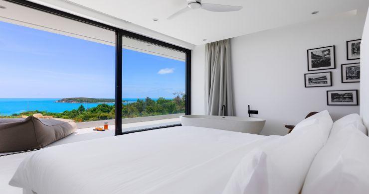 Contemporary 5 Bedroom Sea View Villa in Choeng Mon-9