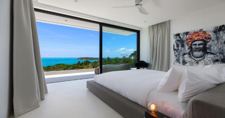 Contemporary 5 Bedroom Sea View Villa in Choeng Mon-10