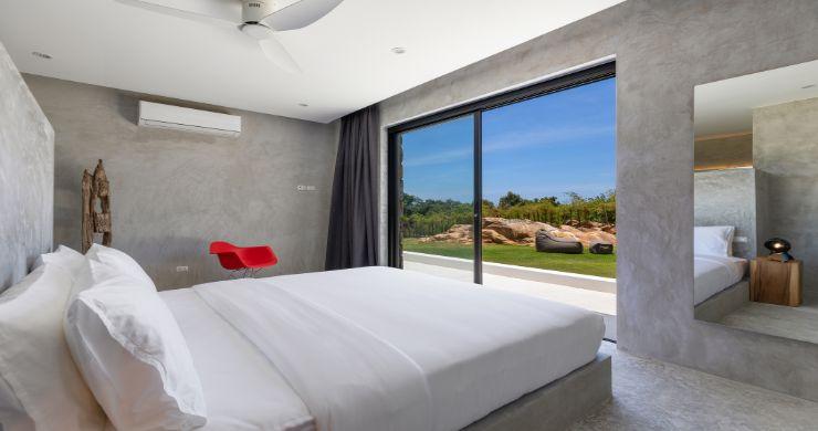 Contemporary 5 Bedroom Sea View Villa in Choeng Mon-19