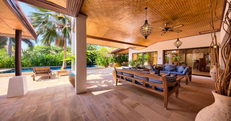 Modern Beachside 3 Bed Sea View Villa in Hua Thanon-3