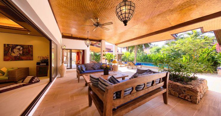 Modern Beachside 3 Bed Sea View Villa in Hua Thanon-22