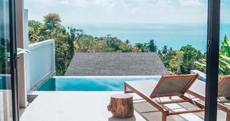 5 Sea View Villa Business for Sale in Koh Phangan-5
