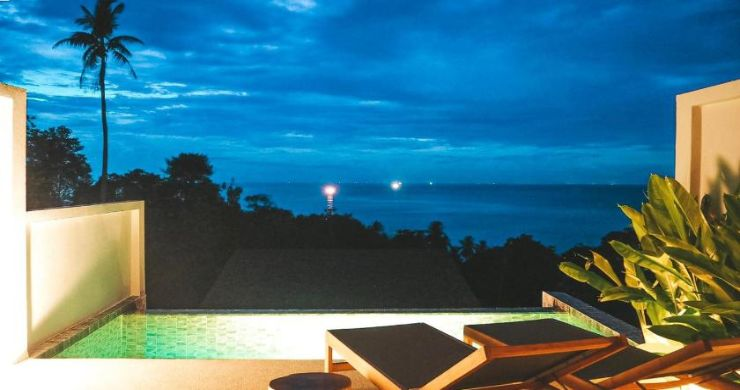 5 Sea View Villa Business for Sale in Koh Phangan-14