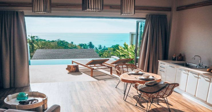 5 Sea View Villa Business for Sale in Koh Phangan-2