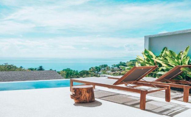 5 Sea View Villa Business for Sale in Koh Phangan