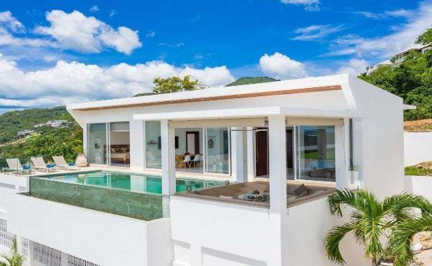 Modern 2 Bedroom Sea View Villa for Sale in Bophut