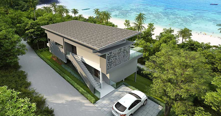 New Luxury 3-Bed Sea view Villas on Chaweng Noi Bay-12