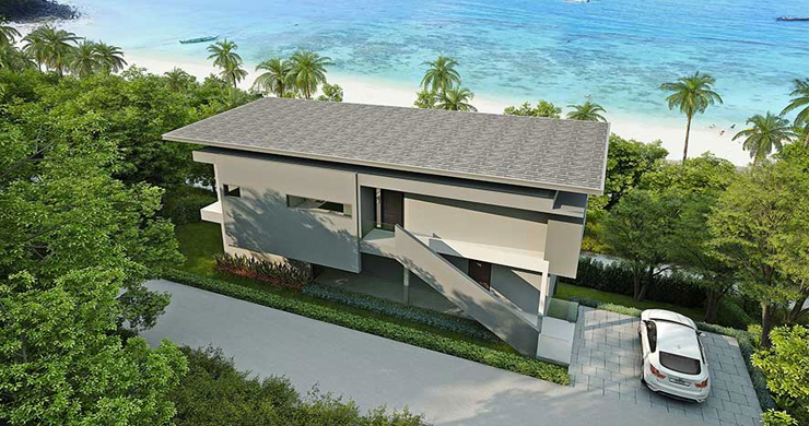 New Luxury 3-Bed Sea view Villas on Chaweng Noi Bay-11
