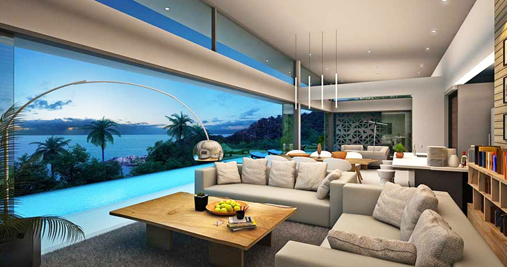 New Luxury 3-Bed Sea view Villas on Chaweng Noi Bay-9
