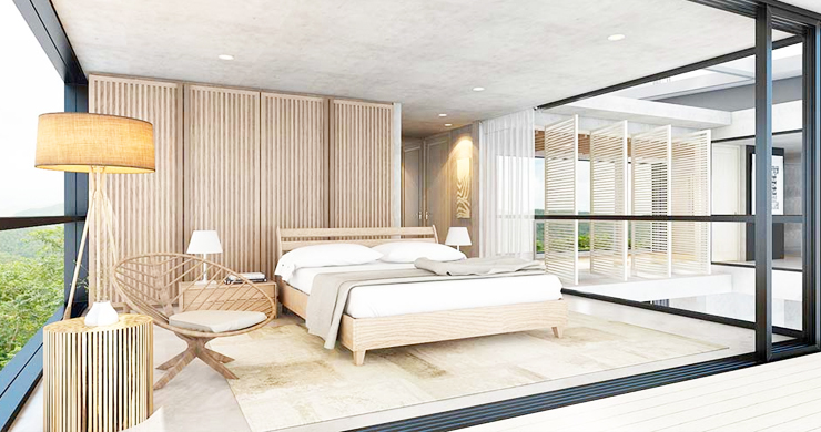 New Luxury 3-Bed Sea view Villas on Chaweng Noi Bay-5