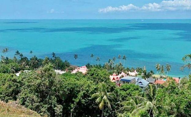 Koh Samui Beautiful Sea-view Land for Sale in Bangpor