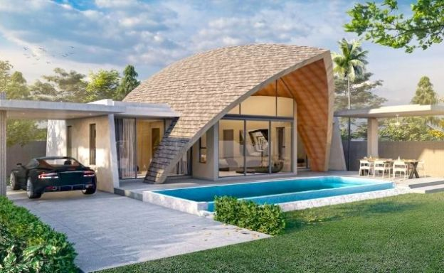 Stylish 2 Bedroom Private Pool Villas in Laem Set