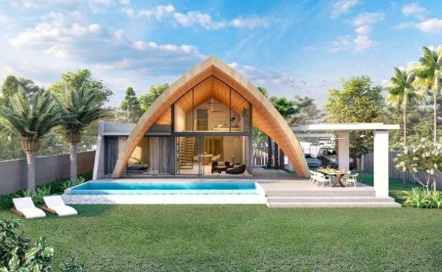 Unique 3 Bed Modern Private Pool Villas in Laem Set
