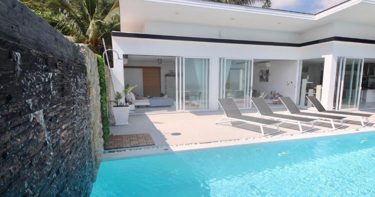 New 3 Bed Modern Sea View Villa in Chaweng Hills-17