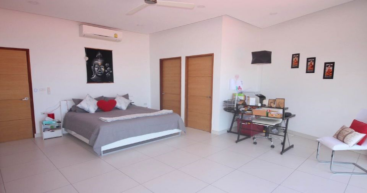 New 3 Bed Modern Sea View Villa in Chaweng Hills-12