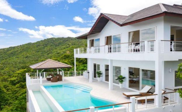 Beautiful 4 Bed Luxury Sea View Villa in Bophut Hills