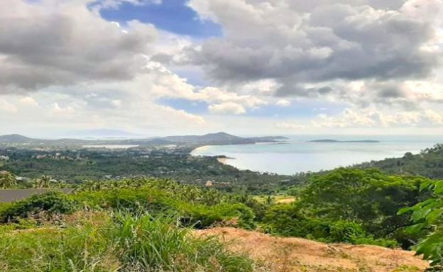 Pristine Sea view Land for Sale in Chaweng Noi