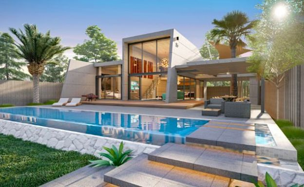 Contemporary 2 Bed Modern Pool Villas in Thong Krut