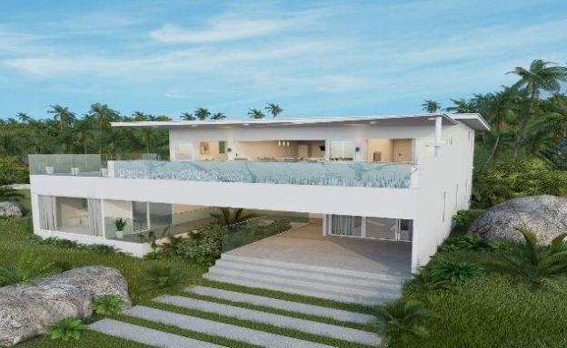 Modern 3-4 Bedroom Sea View Pool Villas in Chaweng
