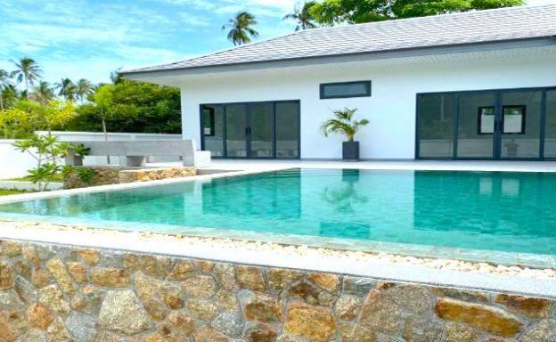 New 3 Bedroom Tropical Pool Villas in Maenam