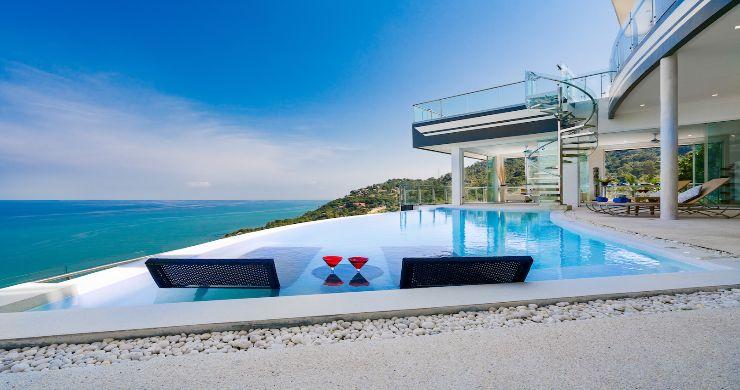 Spectacular Sea View Pool Villa on Chaweng Noi Peak-18