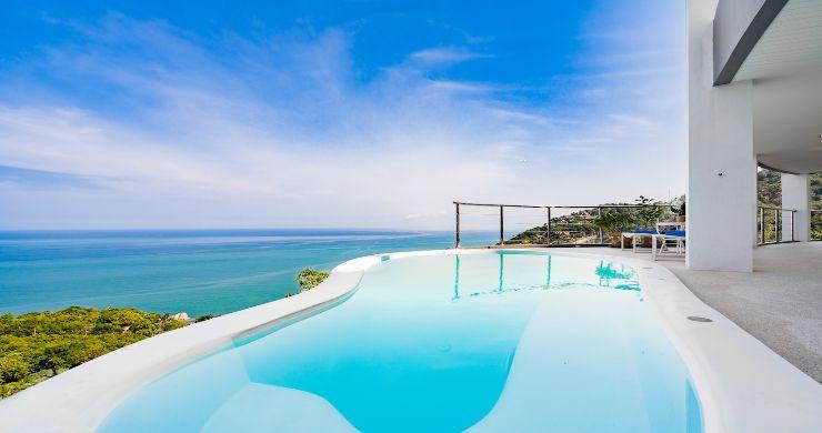 Spectacular Sea View Pool Villa on Chaweng Noi Peak-12