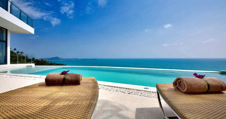 Spectacular Sea View Pool Villa on Chaweng Noi Peak-2