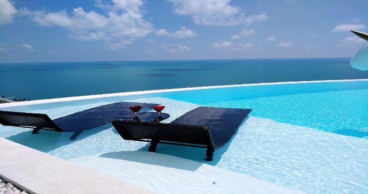 Spectacular Sea View Pool Villa on Chaweng Noi Peak-8