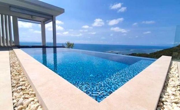 Panoramic 3 Bedroom Sea View Pool Villa in Lamai